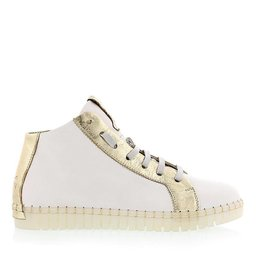 C6 BLAS GOLD AND WHITE HIGH TOP