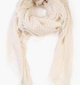 chan luu Stripe Cashmere and Silk Scarf