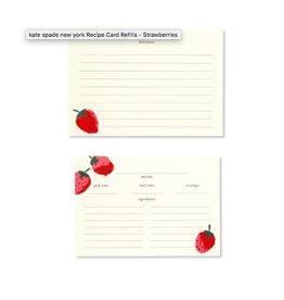 KATE SPADE Recipe Card Refills