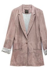 "AS BY DF ""It Girl"" Suede Blazer"