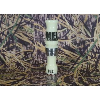 Muddy Fowler Natural Instinct Acrylic Double Reed Duck Call