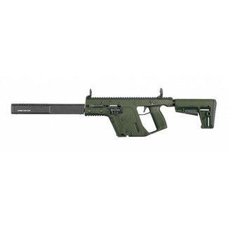 "Kriss Vector Kriss Vector GEN II CRB Enhanced Semi-Auto Rifle, 9mm, 18.6"" Barrel, Olive Drab"
