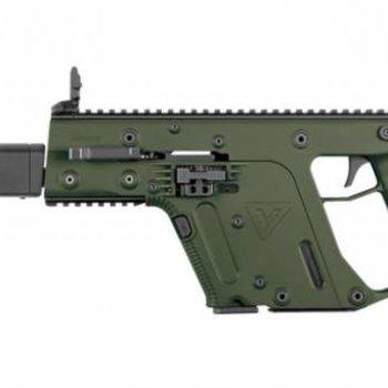 """KRISS Kriss Vector GEN II CRB Enhanced Semi-Auto Rifle, 9mm, 18.6"""" Barrel, Olive Drab"""