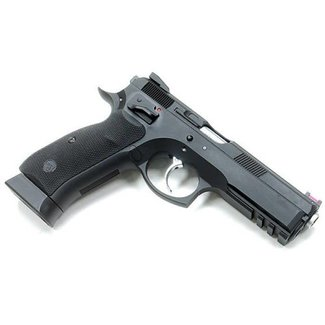 KJ Works CZ75 SP-01 Shadow CO2/Gas Blowback Pistol ( Black )