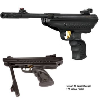HATSAN Hatsan 25 Air Pistol .177 Collapsible, 495FPS