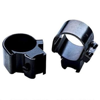 "WEAVER Weaver 1"" .22 Caliber Tip-Off Mount Split Rings Black 49440"