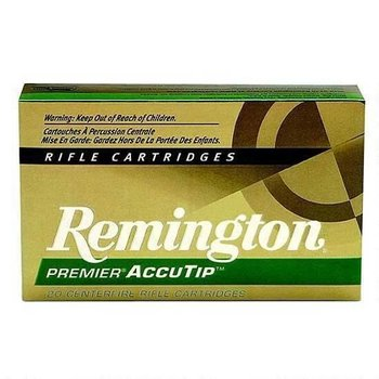 Remington Remington Premier AccuTip-V .204 Ruger 40 Grains 20 Rounds AccuTip BT