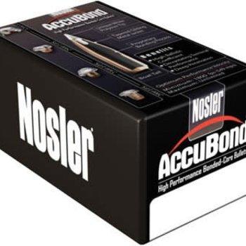 """Nosler Nolser .30 Caliber .308"""" Diameter 165 Grain Accubond Boat Tail Polymer Tip Bullet 50 Count"""