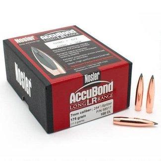 Nosler Nosler 7mm Accubond LR 175 Grain Polymer Tip 100 Pack