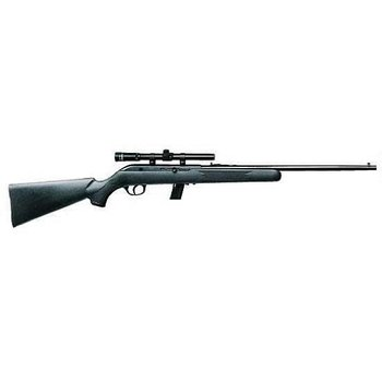 "Savage Savage Model 64FXP Semi Automatic Rifle .22 Long Rifle 20.5"" Barrel 10 Rounds Black Synthetic Stock Blued Finish"