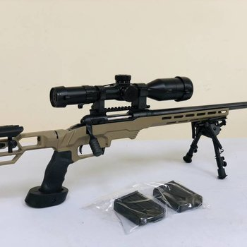 Savage Savage 10 .308 with MDT Chasis & Bushnell DMR & 2 MDT Mags, Scope $2150
