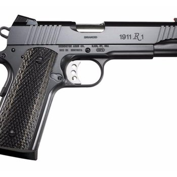 Remington Remington 1911 R1 Enhanced Semi Auto Pistol 45acp, 5 in, Blk Frame, Target Trigger,fiber sight