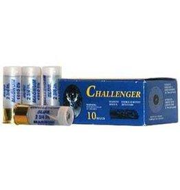 """Challenger Challenger Magnum Rifled Shotgun Slugs 12 Gauge 2.75"""" - 1 Box, 10 Shells"""
