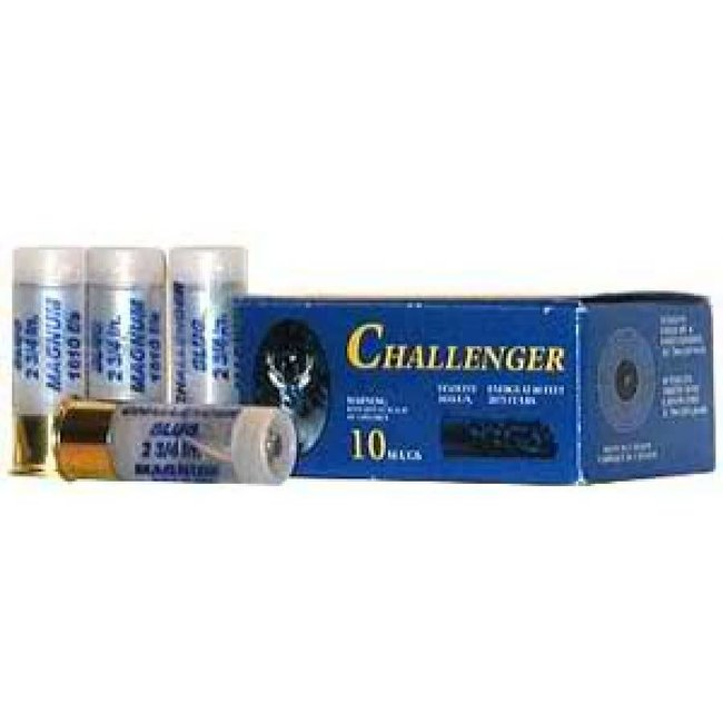"Challenger Magnum Rifled Shotgun Slugs 12 Gauge 2.75"" - 1 Box, 10 Shells"