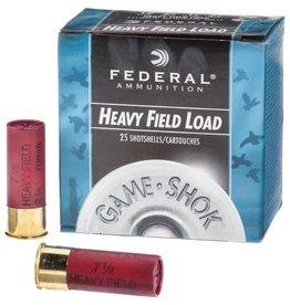 Federal Federal, Game Shok, 12 Gauge, 2.75″, 1 1/8 OZ, #4 Lead Shot (25 Rounds)
