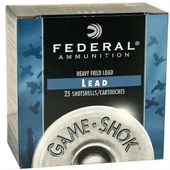 "Federal Game-Shok .410 Bore Ammunition 25 Rounds 2.5"" #7.5 Lead 1/2 Ounce H41275"