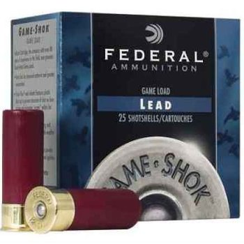 "Federal Federal Cartridge 410 Shotshells by Federal Lead Hi-Brass, 3"" Max fram, 11/16oz, 8 Shot, (Per 25)"