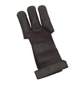 OMP OMP Traditional Shooters Glove Small - Dark Brown/ Leather