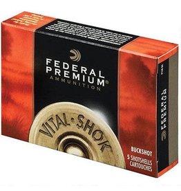 """Federal Federal Vital-Shok 12 Ga 3.5"""" 00 Buck 18 Pellets 5 Rounds"""