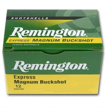 "Remington Remington 12 Gauge 3"" 000 Buck 10 Pellets 5 Round Box"