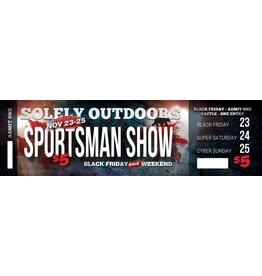 Solely Solely Outdoors ''SPORTSMAN SHOW'' Tickets