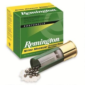 "Remington Remington Nitro Magnum 12 Ga 3"" #4 1-5/8oz 25/box"