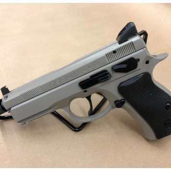"CZ 75 P-01 Omega Semi-Auto Pistol, 4.4"" Threaded Barrel, 10 Round, Urban Grey 0434-0762-7818102"