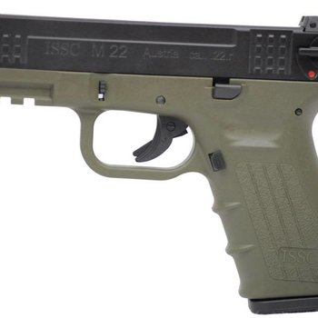 ISSC Res-ISSC M22 OD GREEN c.22 10rd 106mm Barrel