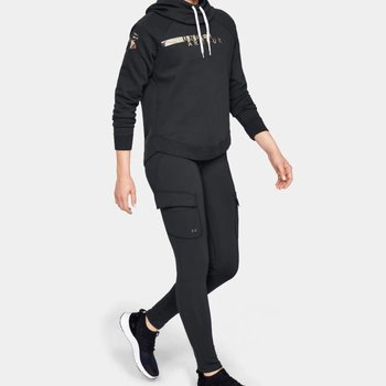 Under Armour Under Armour Women's Favorite Fleece Camo Logo Hoodie - Black