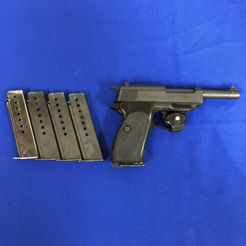 WALTHER Walther P1 9MM W/5 Mags
