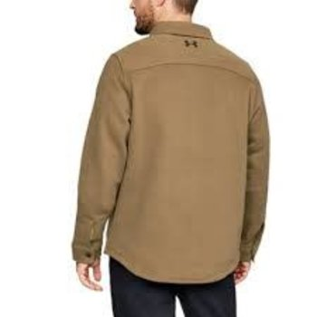 Under Armour Under Armour Buckshot Fleece Button up Coyote Brown
