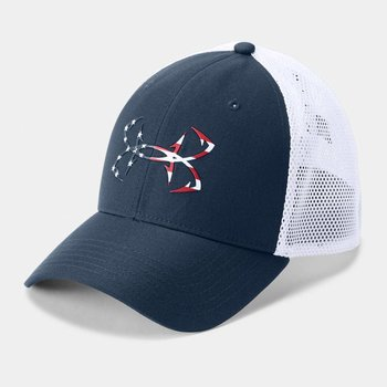 Under Armour Under Armour Men's Fish Hunter Cap - S/M - Black/White