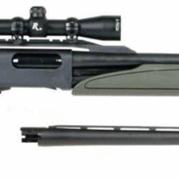 Remington Remington 870 Express Pump Shotgun 12Ga. 2-Barrel Package, W/2-7x32mm Scope