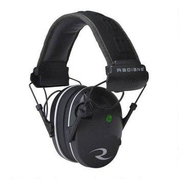 Radians R3200 Dual Mic, Electronic Earmuff, Black/Gray Finish R3200ECS