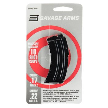 Savage Savage Mark II Series Mag Blued .22LR 10 Shot