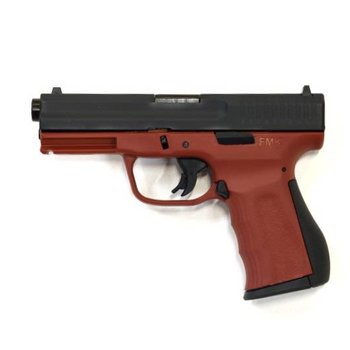 FMK FMK 9C1 G2 9MM 10RD 4.2'' Barrel, Single-Action, Striker Fired, Brick Red