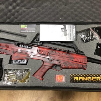 Ranger Ranger Bullpup Semi-Auto 20Ga. 3'', 20'' Barrel, 5 Chokes, Distressed RED Finish