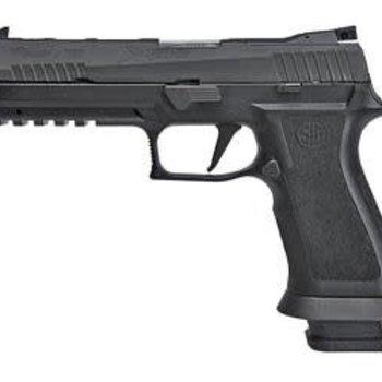 Sig Sauer Sig Sauer P320 X-series 9mm 5in Striker Trigger (4) 10 rd Steel Mag