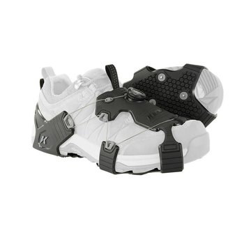 KORKERS Korkers Ice Walker Black/Grey Taction Cleats
