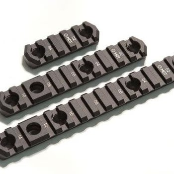 MDT MDT M-LOK Picatinny Rail w/Flush Cup Sling Mounts, 5'', 10 slots
