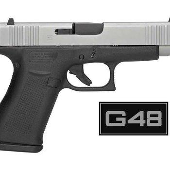 Glock Glock 48 Single Stack 9mm Pistol Fixed Sights