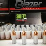 CCI CCI Blazer aluminum c9mm 124gr 1000rd/case store pick up only