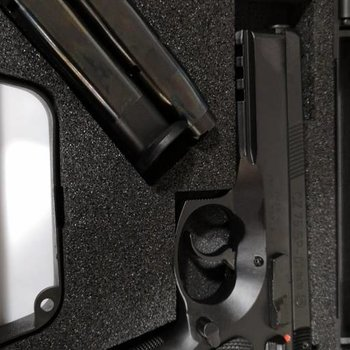 CZ CZ 75 SP-01 9mm with Ambi Safety