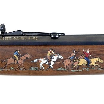 """Henry Henry Big Boy Cowboy Special Edition II Lever Action Rifle .45 Long Colt 20"""" Octagon Barrel 10 Rounds American Walnut Stock Brass Finish"""
