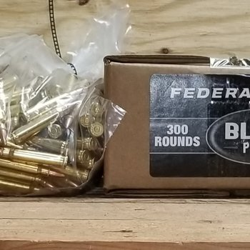 Federal Federal 223 Rem 55 Grain Full Metal Jacket Bulk Pack of 300 Rounds American Eagle Black Pack