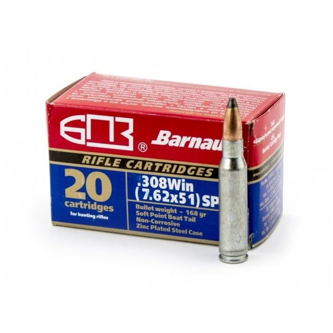 Barnaul .308 Win 168gr SP 20/box
