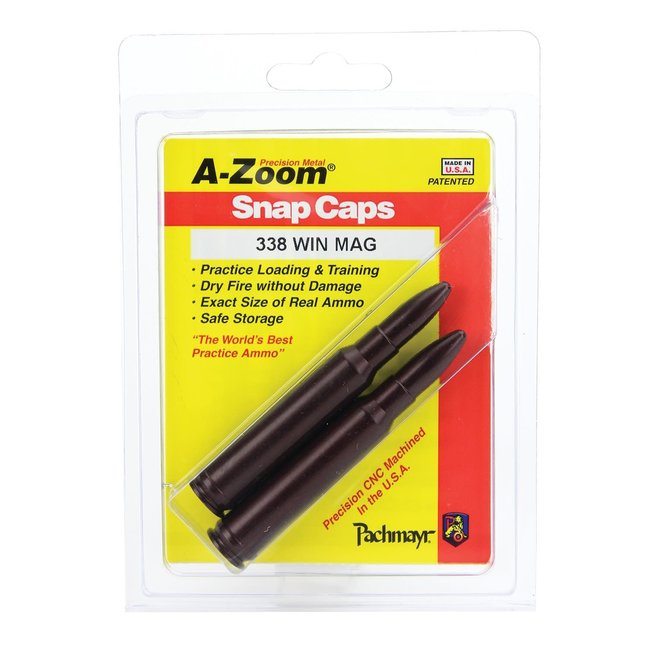 A-ZOOM SNAP CAPS 338 WIN MAG