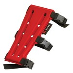 "PSE 7"" Red 3-Strap  Sporting Line  Armguard"