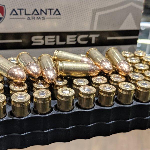 CSD canadian-sports Atlanta Arms Ammo 9mm 124gr FMJ 50rd SELECT