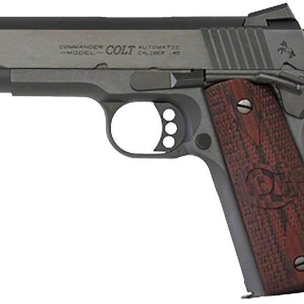 "COLT COMBAT COMMANDER 4.25"" BL 9mm BLACK WDCN SIGHT"
